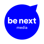 blaues be next media Logo