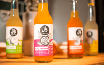Js Lemonade – webdesign und brand identity